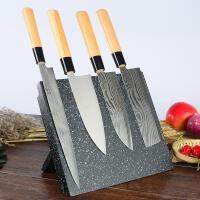 磁性刀架家用创意厨房用品菜刀架置物架刀座多功能磁力刀具收纳架