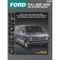 【预订】Ford Full-Size Vans, 1961-88