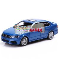 嘉业1:32 大众朗逸合金汽车模型四开门声光回力仿真收藏玩具车 大众朗逸蓝色 大众朗逸香槟色