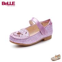 百丽Belle童鞋18新款女童时装鞋时尚萌趣联名款儿童皮鞋女生校园学生鞋 (5-10岁可选)DE0703