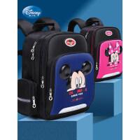 迪士尼1-3-6年级书包小学生男童女童米奇6-12岁儿童减负双肩背包