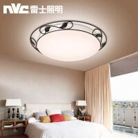 雷士照明led吸顶灯圆形美式简约房间灯过道走廊灯书房卧室灯灯具