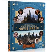 现货 英文原版 J.K. Rowling's Wizarding World: Movie Magic JK罗琳的魔法