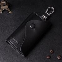 男士钥匙包女士时尚韩版多功能汽车锁钥包卡包小零钱包 黑色时尚版