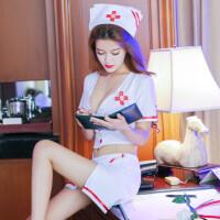 情趣内衣服护士制服诱惑三点式情趣套装透视装激情用品ol夜火sm骚服护士制服