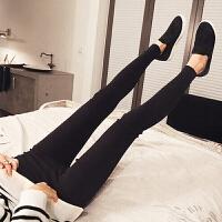 孕妇装冬装托腹裤外穿长裤孕妇春秋冬装季韩版孕妇打底裤