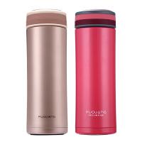富光FA1023-320保温杯不锈钢便携暖水杯子男女冬季过滤泡茶杯办公杯直身水杯