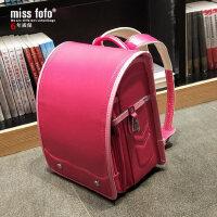 miss fofo日本小学生书包儿童双肩背包男女1-3-5年级减负护脊耐磨