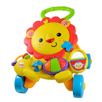 [当当自营]Fisher Price 费雪 多功能狮子学步车 婴儿玩具 Y9854【当当自营】适合6个月以上婴幼儿 智体发展系列明星单品 提供丰富的游戏功能