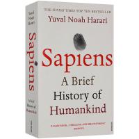 人类简史 英文原版 Sapiens: A Brief History of Humankind 从动物到上帝 英文原版