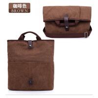 男士包包帆布包 新款韩版潮包单肩包 斜挎包背包多功能休闲包男包