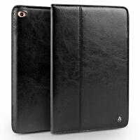 iPad mini4保护套苹果平板电脑迷你4商务外壳防摔休眠真皮套 ipad mini 4 经典黑