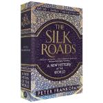 华研原版 丝绸之路 英文原版 世界新史 The Silk Roads 一带一路 英文版进口历史书籍 中国通史 Pete