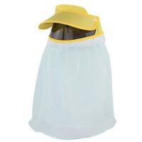 骑车防晒帽子  户外出游电动车遮阳帽 女夏天遮脸太阳帽子