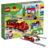 当当自营 LEGO乐高得宝DUPLO系列10874智能蒸汽火车大颗粒积木玩具