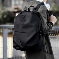 帆布男包双肩包韩版轻便简约男士旅行背包时尚潮流休闲大学生书包