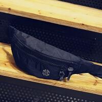 韩版休闲胸包男单肩包潮流斜挎包防水布腰包运动骑行包户外死飞包