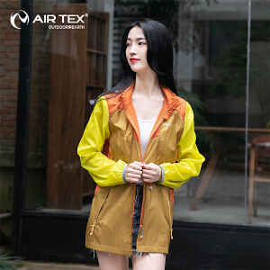 AIRTEX亚特防晒抗紫外线旅行腰身可调节修身女式皮肤衣