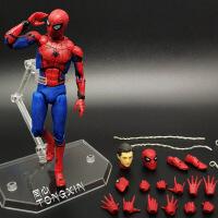 SHF蜘蛛侠英雄归来 钢铁侠复仇者联盟3 毒液玩具模型漫威人偶 全关节可动人偶