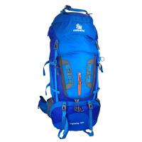 户外登山包双肩背包男80L防水大容量超轻野营徒步旅行双肩包女