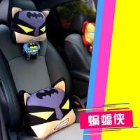 汽车腰靠靠垫车用护腰座椅靠枕靠背腰垫四季卡通可爱头枕套装SN6689