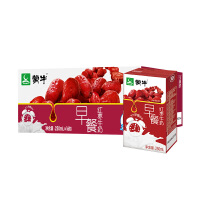 【10月�a】蒙牛早餐奶�t��味250ml×16盒