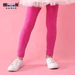 【3件2折:18】铅笔俱乐部童装裤子2020春装新款女童打底裤休闲长裤中大童紧身裤