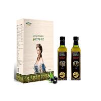 阿戈力特级初榨橄榄油萌蒙礼盒500ml*2