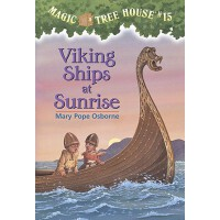 [现货]Magic Tree House #15 Viking Ships at Sunrise神奇树屋 英文