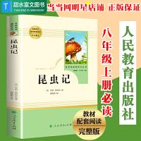 昆虫记 八年级上册语文教材配套课外拓展阅读 人民教育出版社推荐课外书