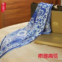 妈妈生日礼物特实用40-50岁中老年送长辈真丝丝巾母节礼品定制