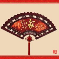 中式浮雕装饰画客厅扇形沙发背景墙玄关过道走廊卧室餐厅墙壁挂画 120*60(厘米) 约25mm厚 单幅价格 独立