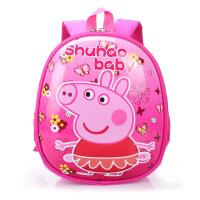 儿童幼儿园书包女生3岁1小孩4潮6可爱5女孩2小童女童宝宝小猪佩奇 小猪佩奇 预售3月5号发货