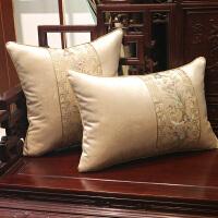 红木古典中式抱枕红木实木家具沙发坐垫冬季加厚中国风客厅海绵定做