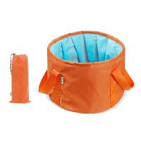 折叠盆便携式 旅行装备旅游洗脸盆泡脚水盆户外钓鱼水桶露营用品