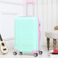 韩版行李箱万向轮24寸小清新密码旅行皮箱28学生潮个性男女拉杆箱