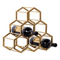 欧式家居客厅酒柜装饰品摆设摆件餐厅奢华创意工艺品葡萄酒红酒架