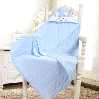 春夏季薄款抱毯宝宝襁褓包巾被子用品婴儿抱被春秋婴儿包被