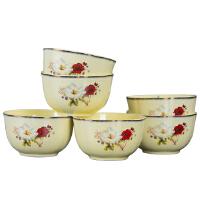 碗盘套装家用景德镇欧式碗盘陶瓷器吃饭套碗景德镇陶瓷餐具丽萨风情陶瓷餐具套装
