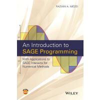 【预订】An Introduction to Sage Programming 9781119122784