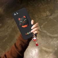 小米note3手机壳note2套卡通可爱超萌mi潮女note韩国lte个性创意 小米note3 黑壳猫+吊坠
