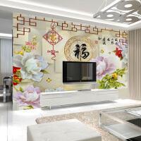 电视背景墙壁纸简约现代客厅3D立体影视墙壁画卧室墙纸自粘墙布m4s
