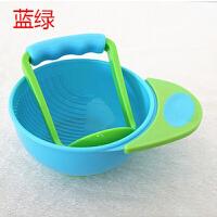 W辅食研磨碗 宝宝辅食碗研磨器食物研磨碗碾磨碗婴儿辅食工具儿童手动水果泥机O