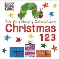 英文原版 The Very Hungry Caterpillar's Christmas 123 饥饿的毛毛虫:圣诞节的一二三