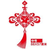 挂表中国风创意客厅电子挂钟大中式时尚现代时钟卧室静音石英钟表 20英寸(直径50.5厘米)