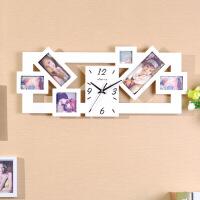 创意钟表个性地中海欧式家居钟饰客厅卧室相框静音艺术挂钟 其他