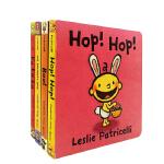 现货包邮 英文原版绘本 Leslie Patricelli 小毛孩节日4册 早教启蒙纸板书合售 送电子音频和点读包 纸