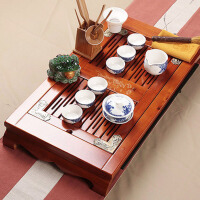 紫砂功夫茶具陶瓷茶杯木制茶盘等茶组套装办公室家用