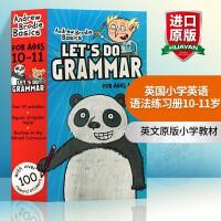 华研原版 英国小学英语语法练习册10-11岁 英文原版小学教材 Let's Do Grammar 进口书籍正版现货全英