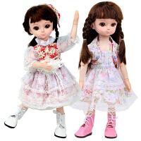 仿真对话儿童娃娃套装女孩公主玩具会说话的洋娃娃女孩会说话的黛蓝芭比洋娃娃套装仿真女孩儿童大号公主玩具单个布